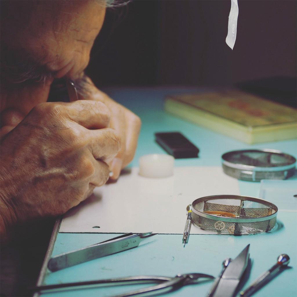 腕時計修理